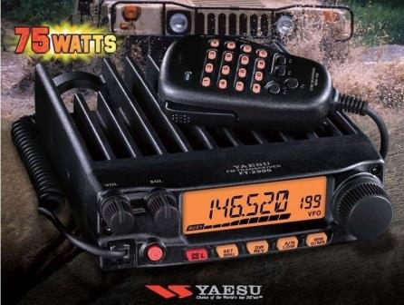 Setting DUplex Yaesu FT 2900